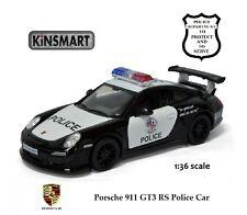 Kinsmart - Porsche 911 GT3 RS  Police diecast car 1:36 - G scale # 5352DP