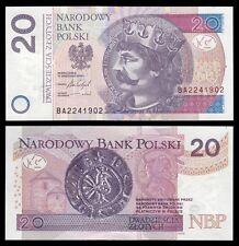 Polonia - Poland  20 Zlotych 15-9-2016 Pick 184b  SC = UNC