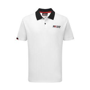 Toyota Gazoo Racing Men's Logo Polo Shirt White (L)