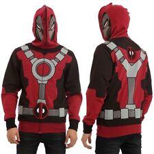 Deadpool Hoodie Mask Marvel Mad Engine Medium New Mask Costume