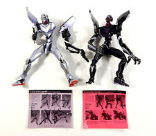 Neon Genesis Evangelion EVA-03 & EVA-04 Toy Figures + Accessories Kaiyodo
