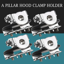 Universal 4x A Pillar Hood Led Work Light bar Mount Bracket Clamp Holder Offroad