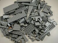 200 Random LEGO Light Blue Gray Bulk Lot of Bricks Plates Specialty Part Pieces