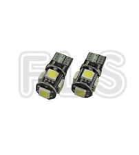 2x CANBUS ERROR FREE CAR LED W5W T10 501 NUMBER PLATE/INTERIOR LIGHT BULBS  FIA2