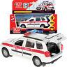 Lada Kalina Cross Diecast Metal Model Car Russian Ambulance Toy Die-cast Cars