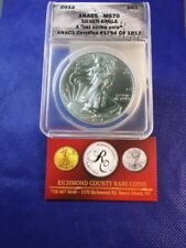 New listing 2012 American Silver Eagle First Day Issue Anacs Ms70 Snow White