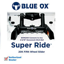 """Blue Ox Super Ride 5th Wheel Hitch 20K Attaches To Any 2-5/16"""" Gooseneck Ball"""
