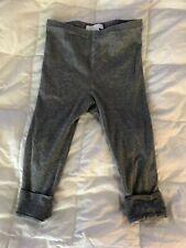Burberry Toddler Kids Grey Cotton Leggings 3Y 90/50