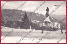 BRESCIA CITTÀ 112 MONUMENTO ad ARNALDO DA BRESCIA Cartolina