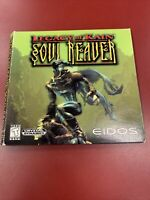 Legacy of Kain: Soul Reaver (PC, 1999) w/ Bonus Demo Disc And Game No Manual