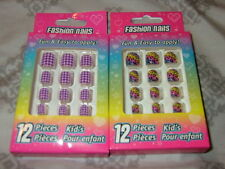 NIP 2 Packages Kids Fashion Nails