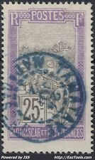MADAGASCAR N° 134 AVEC CACHET BLEU DE TAMATAVE