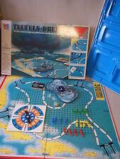 Brettspiel Boardgame Teufels-Dreieck 2-4 Spieler MB Spiele 1977