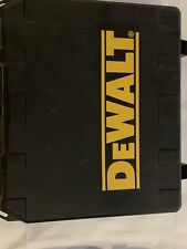 Dewalt Empty Tool Case W/ Charger Fits Drill Impact Driver and Batteries