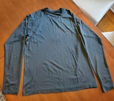 Lululemon men's long sleeve shirt top navy blue size L