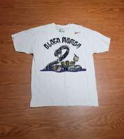 Kobe Bryant Black Mamba 5 rings Nike Short Sleeve T-shirt White Men's Sz Large