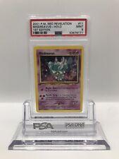 Misdreavus Holo Neo Revelation 1st Edition PSA 9 Pokemon Karte Mint 11/64
