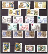 s15544) VATICANO MNH** 1980 Complete Year set 20v