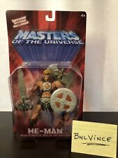 Masters Of The Universe: He-Man Action Figure 2002 200X Iron Cross Variant Rare!