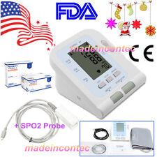 Digital Blood Pressure Monitor USB software Sphygmmanometer CONTEC08C+Spo2 Probe
