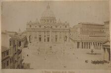 Rome Roma Vatican Italie Italia Tirage albuminé ca 1880