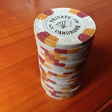 20 Grey NCV Paulson Private Card Room Poker Chips#5