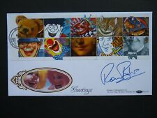 BENHAM SIGNED COVER. COMEDY GREETINGS STAMPS. RONNIE BARKER.