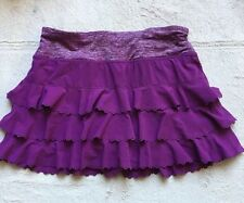 Lululemon Run Weightless Dewberry Skirt, Skirt/Shorts, Ruffled, Size 2, Purple
