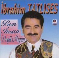 Ibrahim Tatlises Ben Insan Degil Miyim Türkische Folk & Aarabesk Musik CD