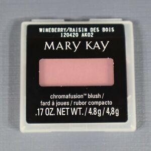 "Mary Kay Chromafusion Blush ""Wineberry"" .17oz/4.8g New 120420"