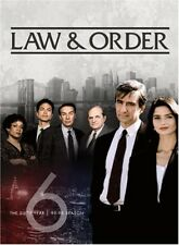 Law & Order: The Sixth Year [New DVD] Boxed Set, Repackaged, Snap Case