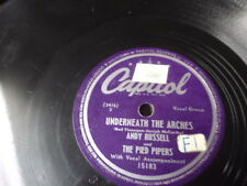 "Capitol 10"" 78/Andy Russell&The Pied Pipers/Just For Me/Underneath The Arches/E!"