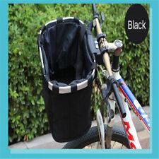 2x Bicycle Basket Detachable MTB Bike Riding Front Bag Pannier 7.5KG Load