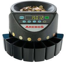 Arebos Macchina Contatore di Monete Elettronico (4260199756225)