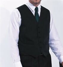 Halloween Costume New Hospitality Waistcoat Bar Staff Light Weight In 5 Colours