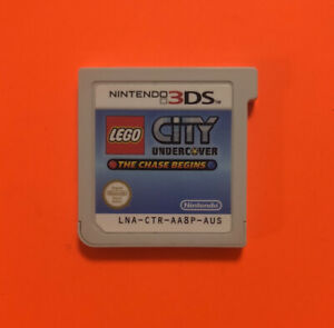 Lego City Undercover - Chase Begins - Nintendo 3DS Game - 3 DS - Under Cover