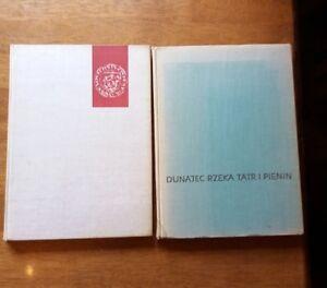 DUNAJEC RZEKA TATR I PIENIN AND WARSZAWA 1964/66