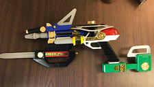 Power Rangers Zeo 7-In-1 Blaster Weapon Set Toy Cosplay Bandai 1996.