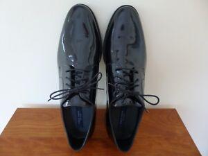 Men's Cole Haan Cambridge Oxford Shoes C20795 Black Patent Size 11