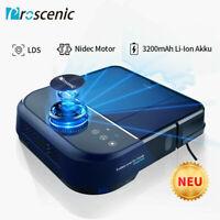Proscenic D500 Alexa Robot Aspirapolvere lavapavimenti Laser mappatura Navigazio