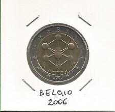 BELGIO - 2 Euro commemorativo 2006 FDC da rotolino