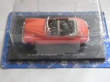Blake + Mortimer Buick Cabriolet Modellauto 1/43 ohne Zeitung Secret de LÉspadon