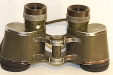 ZEISS    6 X 30      GERMAN  MILITARY   binoculars schott leaded glass...reticle