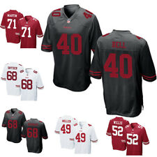 Neu NFL Herren T-shirt San Francisco 49ers Stitched Jersey Fußball Team Trikots