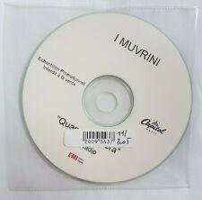 I MUVRINI : QUANDU SENTERA (radio mix) ♦  RARE CD PROMO RTL SINGLE ♦ la Corse !