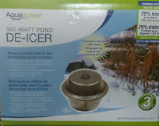 AQUASCAPE #39000 300 WATT POND DE-ICER /  POND HEATER With Indicator Light!