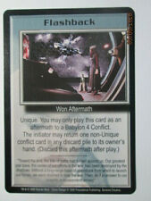 1999 Babylon 5 Ccg - Severed Dreams - Rare Card - Flashback