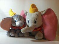 2014 Kohls Cares + 2001 Fisher Price Disney Dumbo Plush Stuffed Animal Elephant