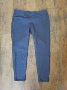Danskin Now Women's Size XXL (20) Active Crop Leggings Pants Fitted Gray