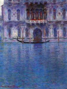 CLAUDE MONET PALAZZO #1 OLD MASTER ART PAINTING PRINT POSTER REPRODUCTION 563OMB